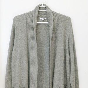 Sonoma Women's Gray Open Cardigan Sweater Size 2X